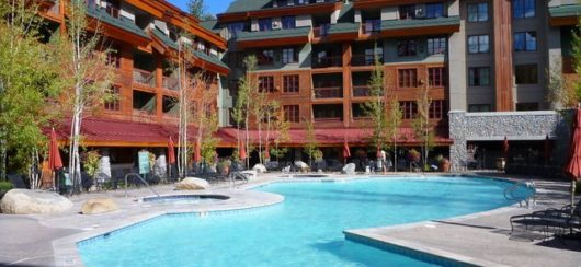 year-round heated pool and 2 jacuzzis
